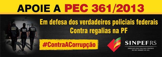 Apoie a PEC 361/2013