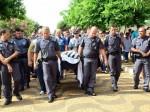 enterro policial